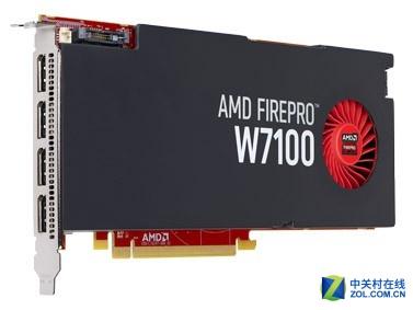 绘图显卡 AMD FirePro W7100 8GB售3199