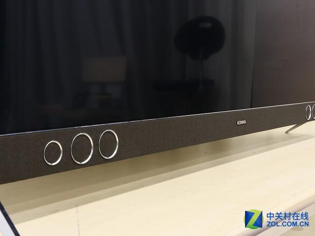 人工智能+极窄边框 康佳55A1电视评测