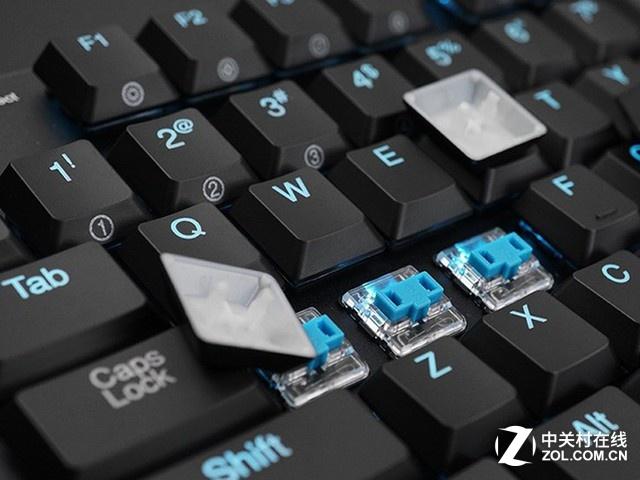 干净字符 优秀的机械键盘不怕点亮背光