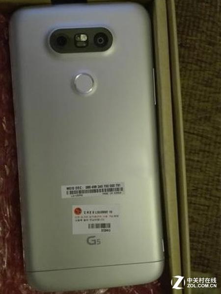 LG G5包装盒曝光 魔力槽真身设计真心赞
