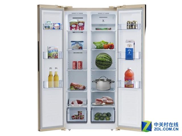 456升云米对开门冰箱11.11不到两千