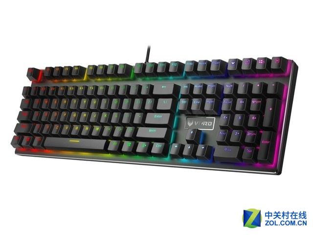 199元大促 雷柏V700RGB合金版键盘热销