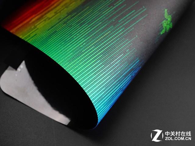 0.5mm极致薄 测Razer掘土黄蜂V2鼠标垫