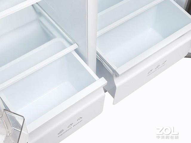 515升大容量 TCL双变频对开门冰箱预约抢购