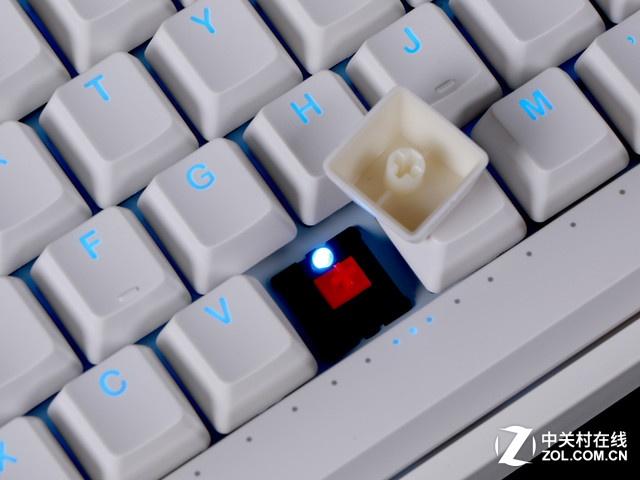 纯白新手感 ikbc F-108机械键盘京东499元