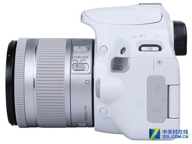 黑白两色任选 佳能入门级单反EOS 200D