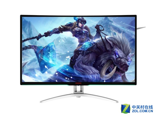 AOC爱攻AG322QCX 32英寸显示器仅售三千五