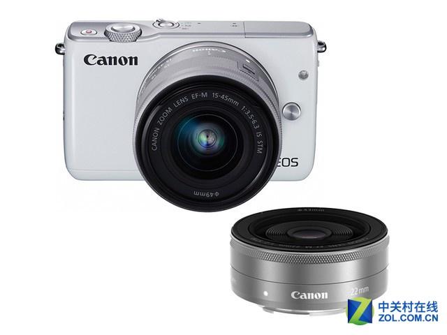 两枚镜头 佳能微单EOS M10套机仅2999元
