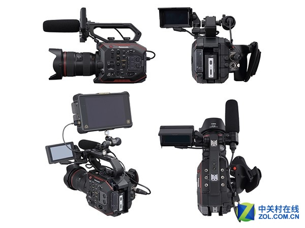 高画质还带防抖 松下摄像机AU-EVA1