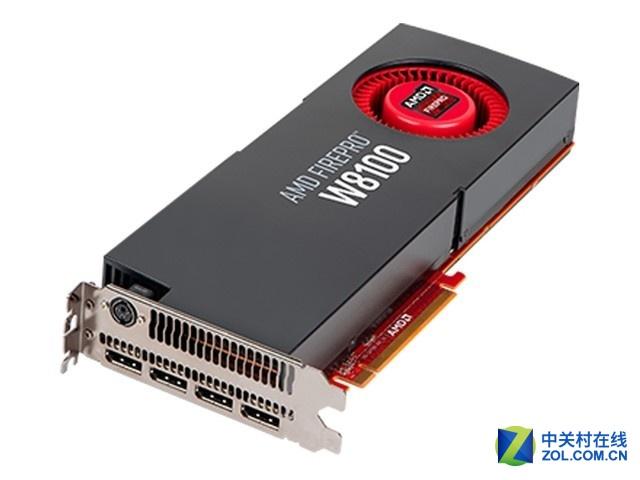 高端4k输出AMDFireprow8100 8GB售7990元