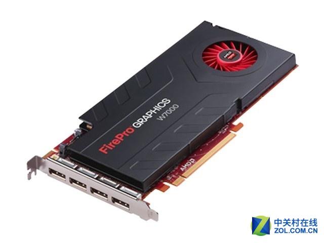 多屏显卡AMD FirePro W7000 4G售1499元