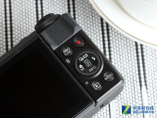 单反备用机 佳能G7X II搭载4.2X光变镜头