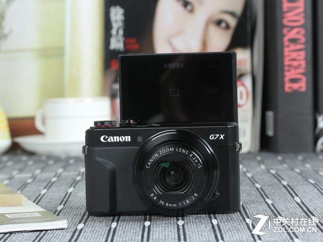 搭载4.2倍光变镜头 佳能便携相机G7X II