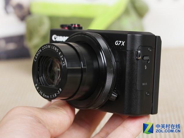 两千万像素 佳能G7X II搭载4.2X光变镜头