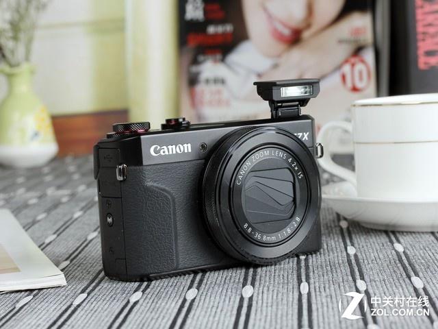 4.2X光学变焦镜头 佳能G7X II高画质表现