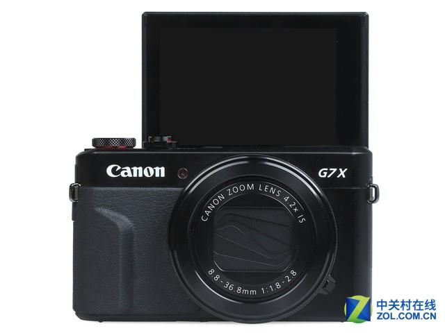 佳能G7X Mark II的屏幕可以翻转吗?