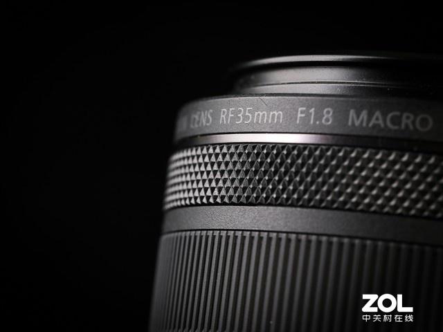 良好通用性 佳能RF 35mm f1.8微距镜头