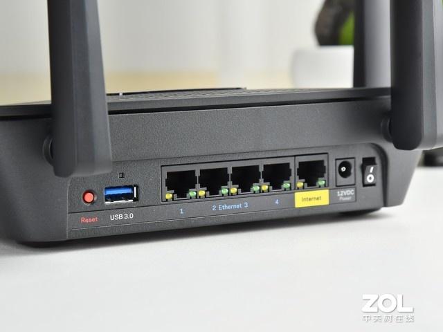 三频WiFi竞技王者 Linksys MR9000X体验