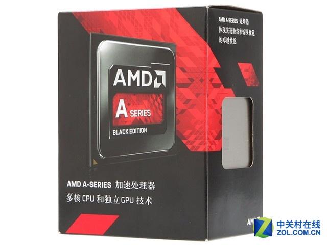 AMD四核APU,高主频办公娱乐通吃!