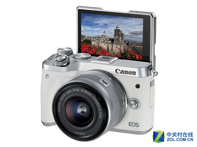 更加易用的微单相机 佳能高画质EOS M6