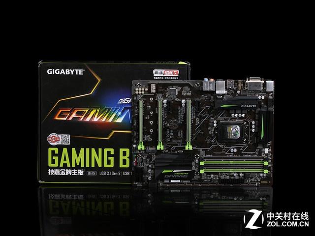 甄评测 技嘉Gaming B8延续黑绿色的信仰