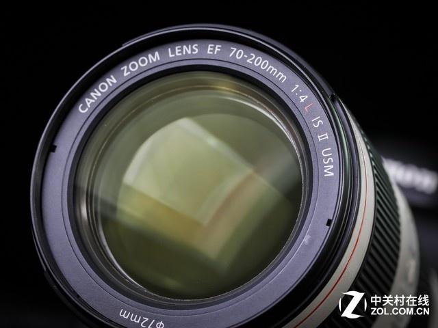 远摄变焦镜头 佳能70-200mm F4L IS II