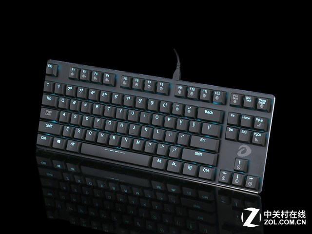 """""""薄""""出轻快感 达尔优EK820键盘视频评测"""