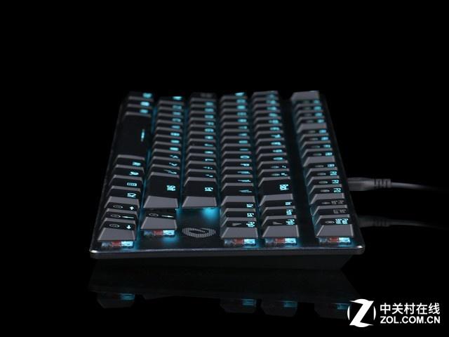 时尚简约 达尔优EK820超薄机械键盘热销