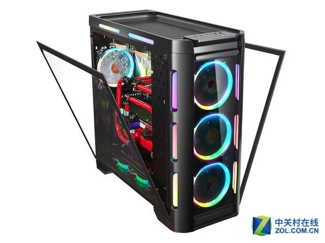 自带RGB灯条加持 金河田峥嵘Z30炫酷灯效
