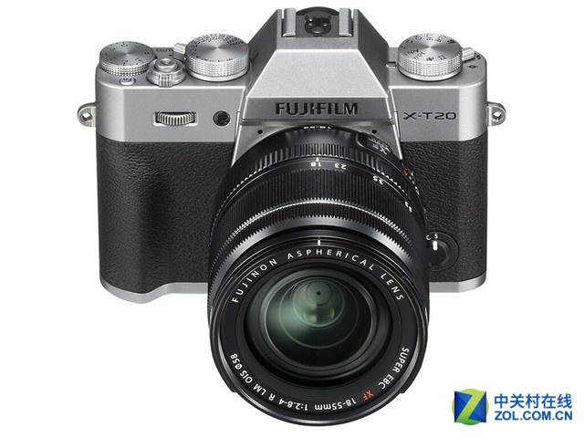 高画质微单相机 复古外形的富士X-T20