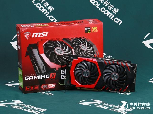 红龙显卡 微星1060 GAMING X 6G热销