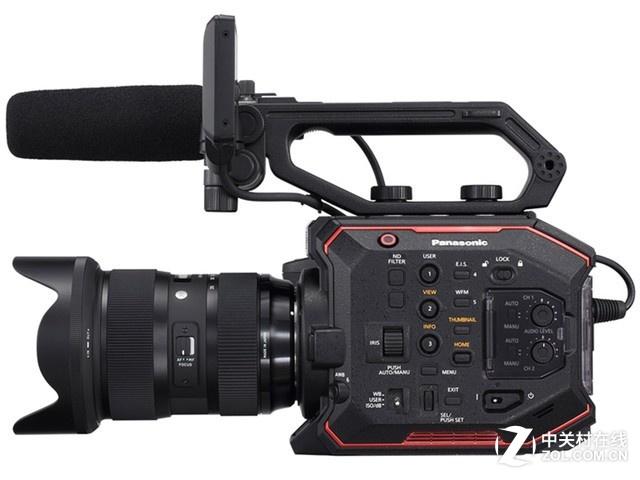丰富的镜头选择 松下专业摄像机EVA1
