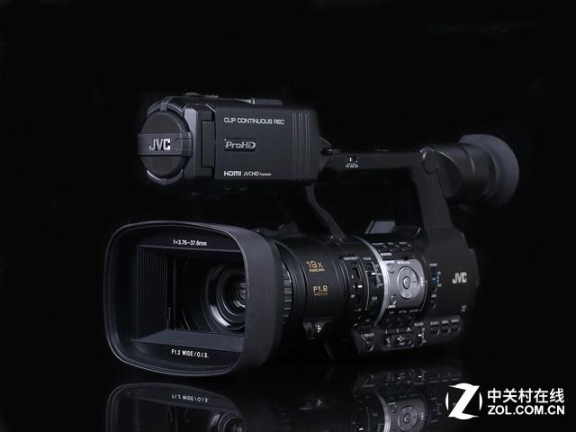 JVC HM360辅助对焦控制效果展示