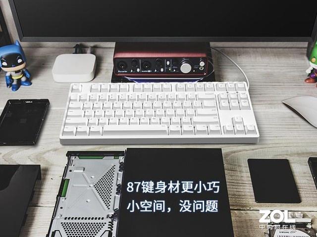手感出色  IKBC C87樱桃轴机械键盘热销