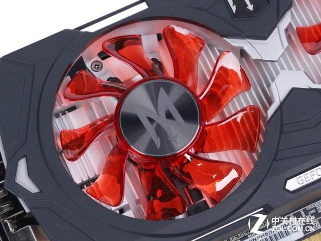 大众最佳选择  影驰 GTX1050 GAMER显卡