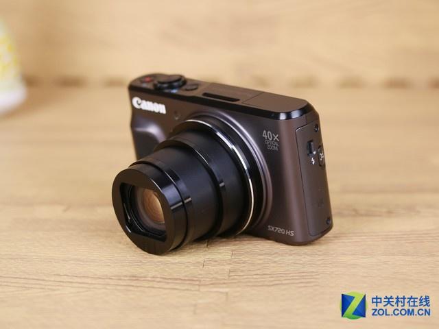 40X光学变焦镜头 佳能SX720 HS旅游神器
