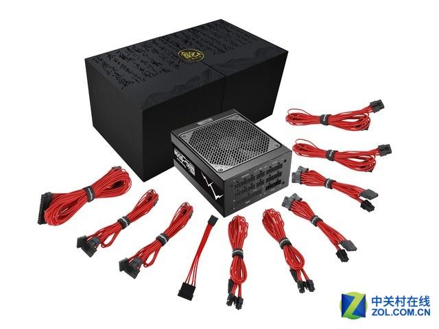 全模线材 鑫谷 昆仑KL-850W电源热销