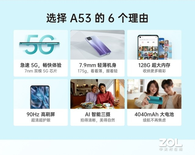OPPO A53重新定义千元5G 配置性能不简单
