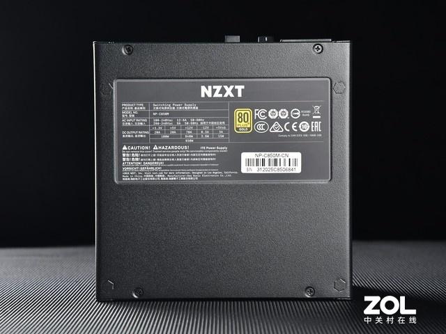 NZXT C850电源评测:RTX3090的实力后盾